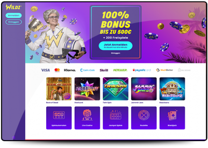 Wildz Online Casino