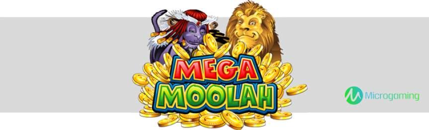 Mega Moolah mit allerhand Goldmünzen